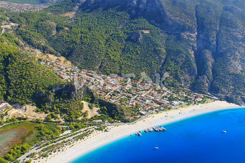 Another angle of view to Oludeniz beach