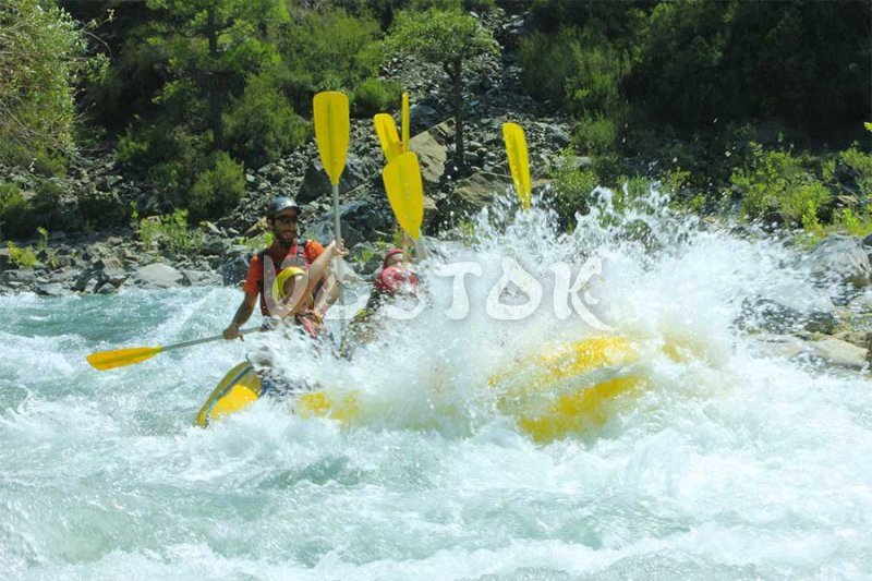 Big splash on Dalaman River