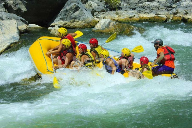 Rafting on Dalaman river is very exciting adventure