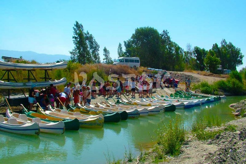 The Xanthos River Canoe trip will start soon