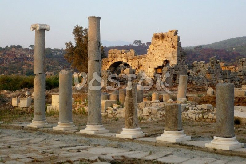 Remains of ancient city Patara
