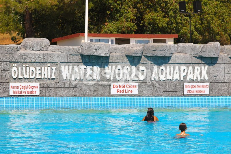 Wave Pool in Oludeniz Water World