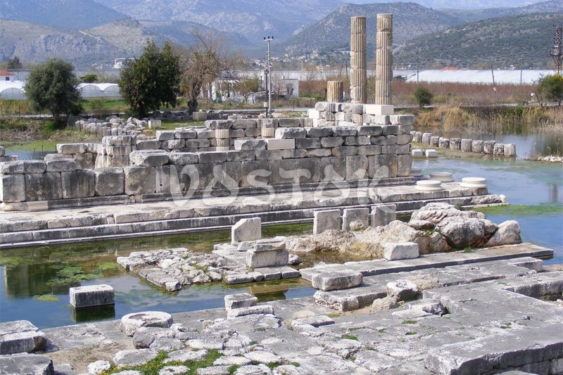 Ruins of Letoon Temple in Xanthos