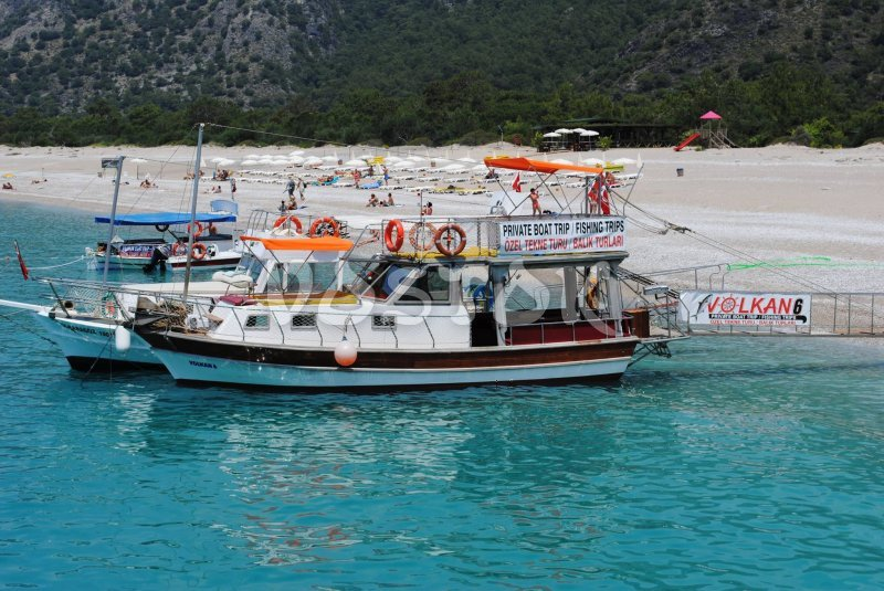 Volkan 6 boat is available for hire in Oludeniz only - up to 12 people