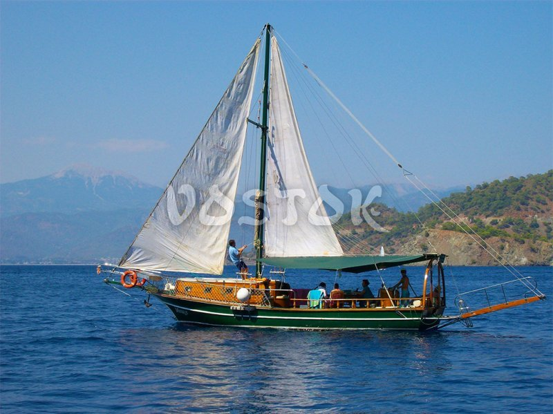 Mirage is sailing boat for up to 8 persons