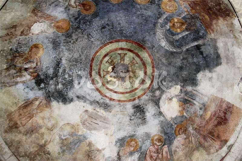 Fresco in St. Nicholas church in Demre