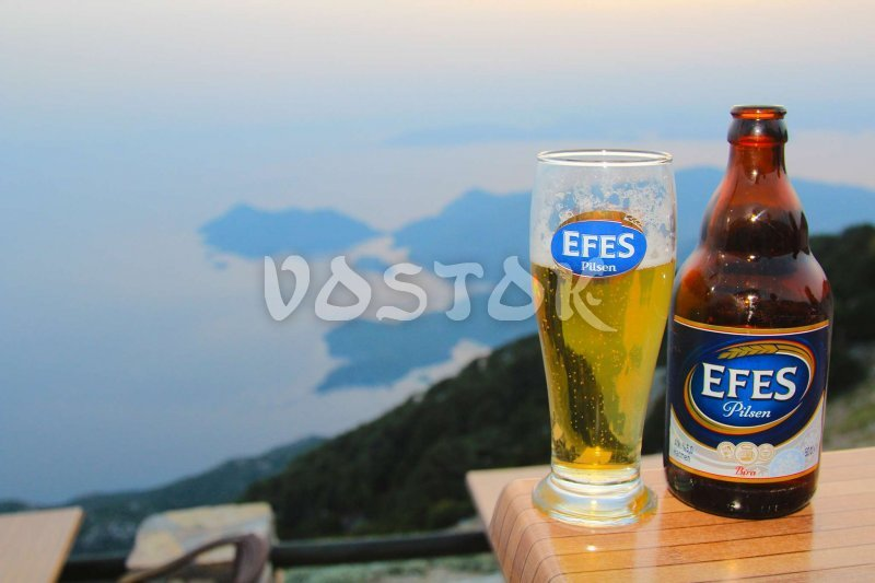It is Turkey baby so here are no places without our old good Efes