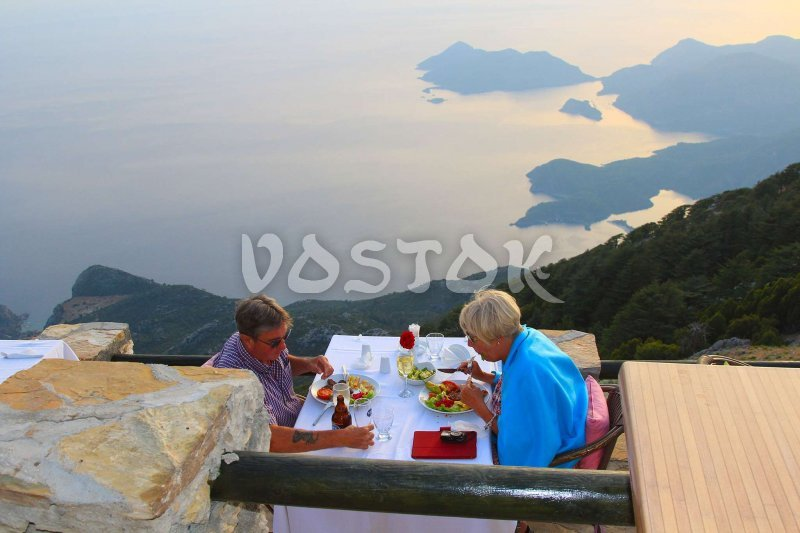 Delicious food and perfect view - what can be better in this world?