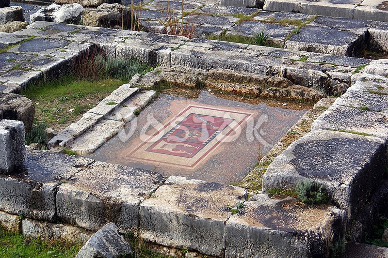 Remains of ancient Lycian city Xanthos