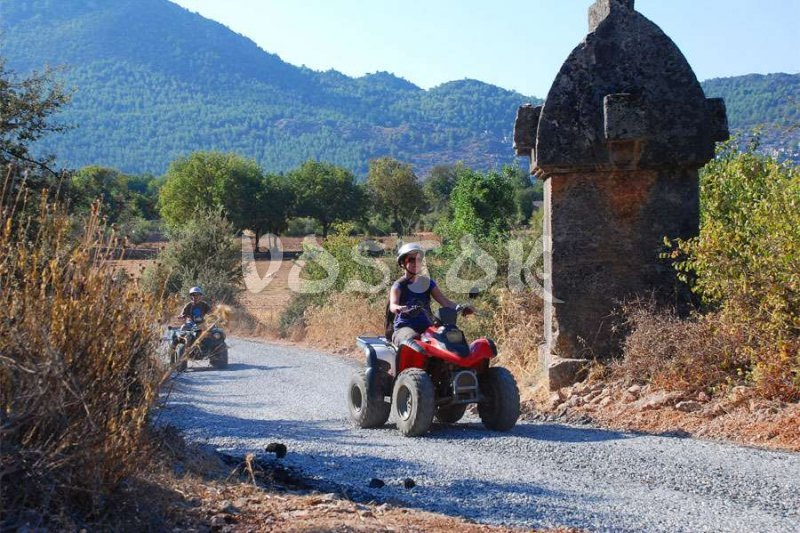 Quad bike safari in Fethiye is real adventure along Lycian land